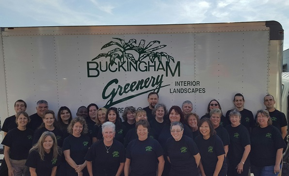The Buckingham Greenery Team