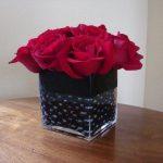 corp rose centerpiece_4-30-14